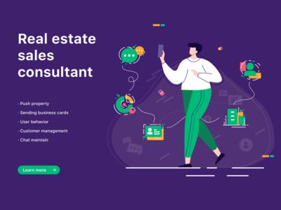 Real estate sales consultant