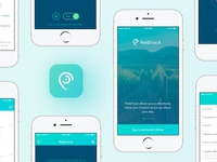 Tracking app design