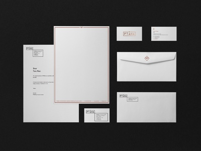 PTAHA: business card, letterhead and envelope design logo design idenity logo furniture corporate branding corporate business card branding design brand and identity envelope design letterhead bussines card bird logo bird branding typography design corporate identity visual design