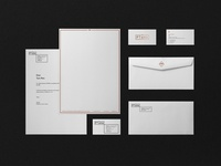 PTAHA: business card, letterhead and envelope design