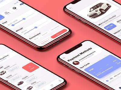 Offlease Mobile App automotive design car ecommerce app mobile app design mobile ui mobile app
