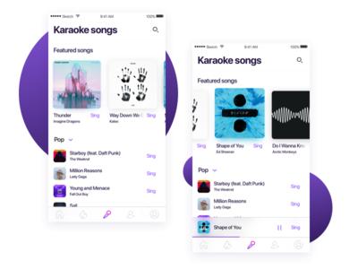 Karaoke Songs List