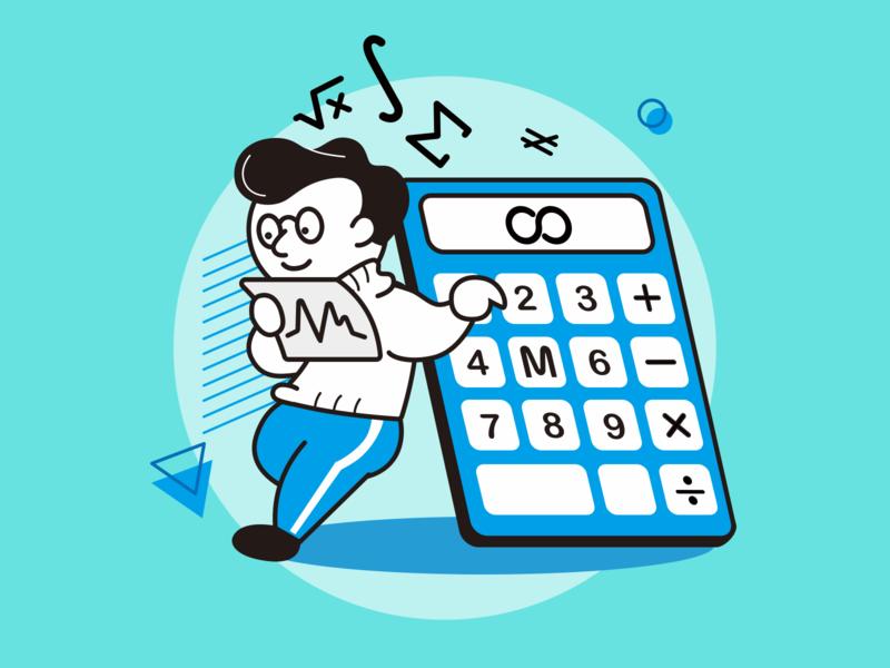 Numerical Analysis Engineer report symbol analysis computer country logic number math blue career job coding original illustraion engineer code