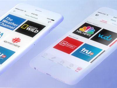 TVtibi redesign concept channels movies store ios app tvtibi tv