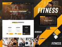 Website design for Level Fitness