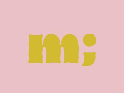 Dingos lowercase m
