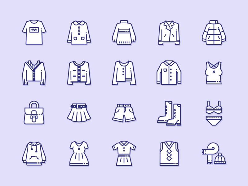 icons line cloth lineicons logo cloth clothes illustration icons