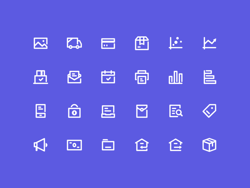Icon Exploration business icons ui icons