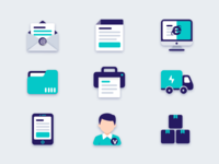 Icons  for Warehouse management