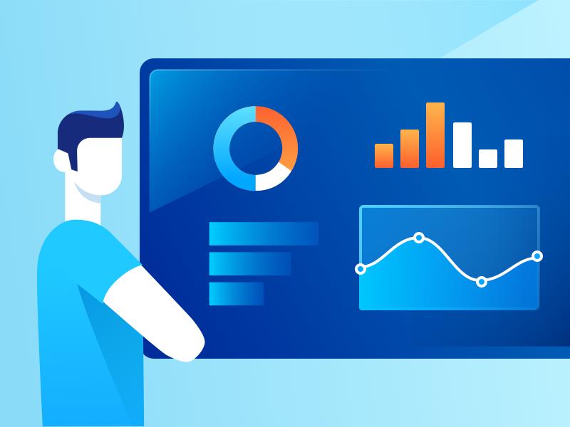Data Driven design illustration