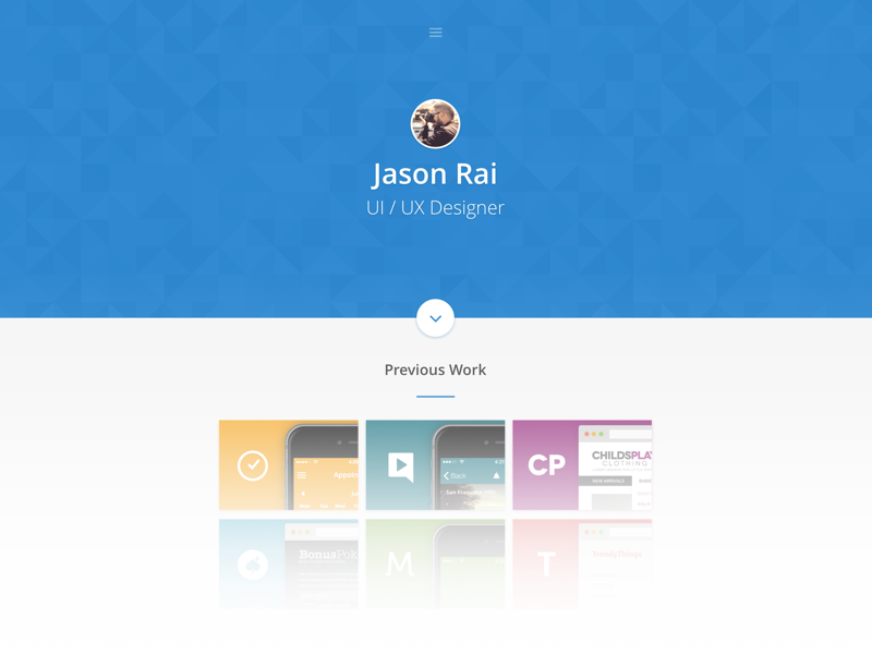 Portfolio redesign wip portfolio redesign material design