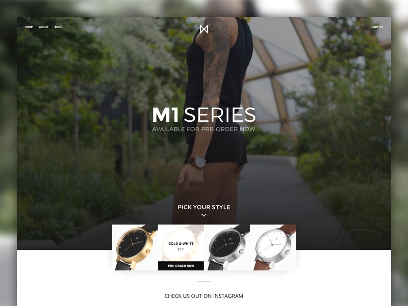 MinimalistWatches.com minimalistwatches black brown silver process mockup watches watch minimalistic minimalism minimalist