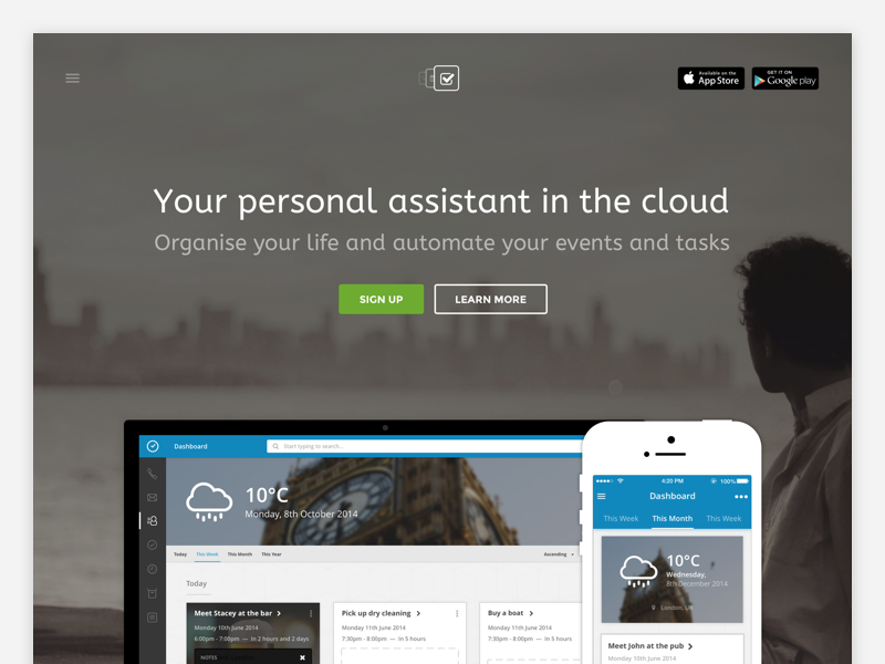 Appsbooth Landing Page ux ui app productivity web mobile iphone minimalistic minimalism minimal