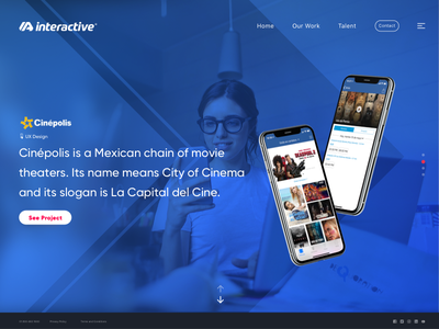 Portfolio Agency Concept website web design web ux user interface user experience ui work interface design concept agency