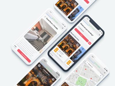 Hotels Site Concept ux design website user interface concept design interface ui
