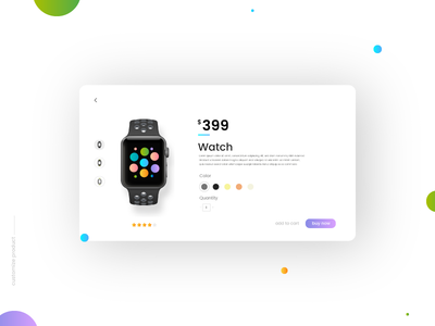 Customize Product - Daily UI:: #033