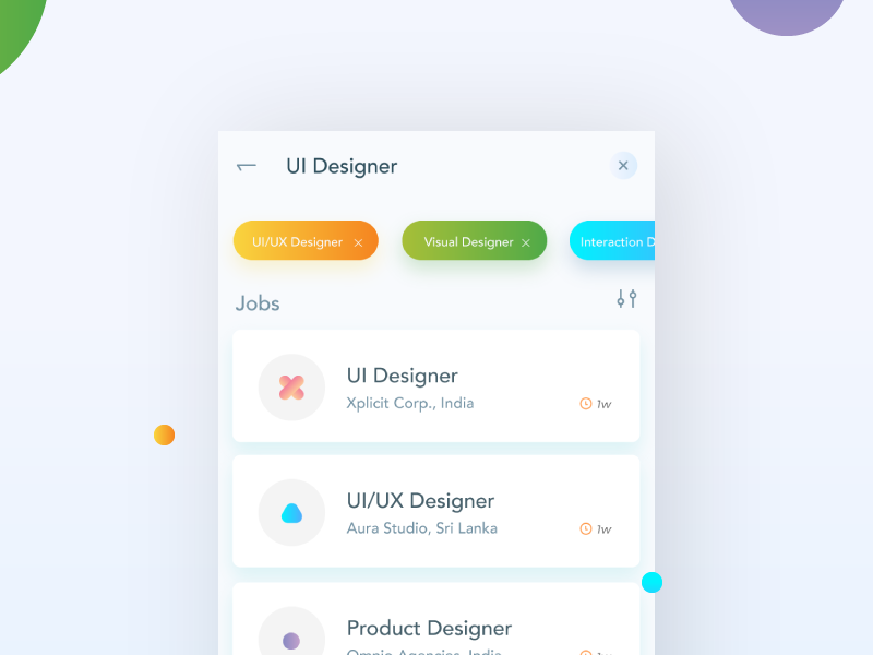 Job Listing Daily Ui 050 By Arun Malavan On Dribbble