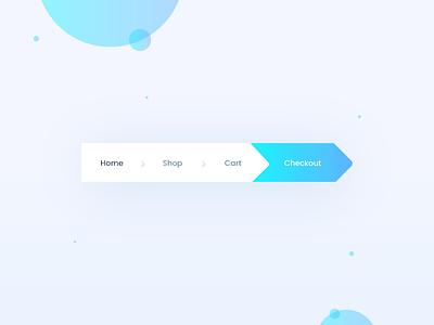 Breadcrumbs- Daily UI:: #056 lettering type flat web ux app vector icon typography breadcrumbs dailyui ui