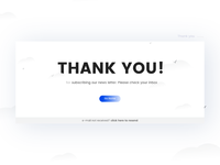 Thank You- Daily UI:: #077