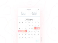 Date Picker- Daily UI:: #080