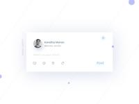 Status Update- Daily UI:: #081