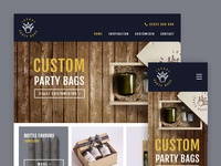 Luxury Party Bags Website