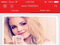 Teleamigos - Add Friends Page