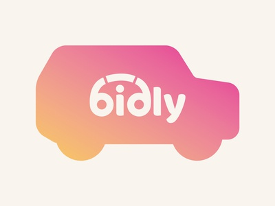 Branding for car buying site Bidly