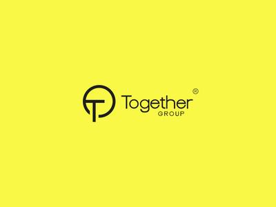 Together Group best designer logo design design cool design best shots branding cool colors good design creativity clean design