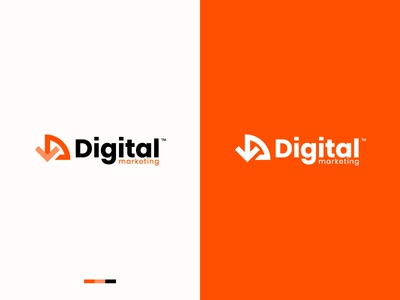 Digital Marketing beautiful cool logo best designer logo design best shots branding cool colors good design creativity clean design