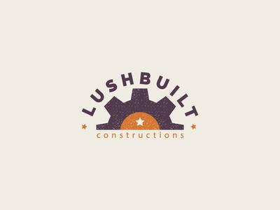 Lushbuild Constructions best designer logo design design cool design branding best shots cool colors good design creativity clean design