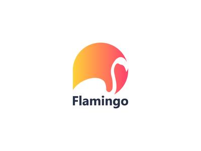 Flamingo best designer logo design design cool design branding best shots cool colors good design creativity clean design