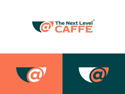 @The Next Level Caffe V1 logo best designer logo design cool design cool colors branding best shots good design creativity clean design