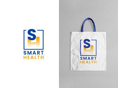 Smart Health logodesign graphic design logo illustration design cool design branding creativity cool colors best shots good design clean design