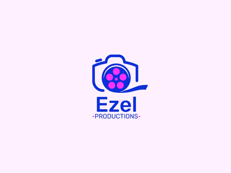 Ezel Productions logo ui branding design graphic  design full color cool logo best designer logo design cool design best shots creativity good design cool colors clean design