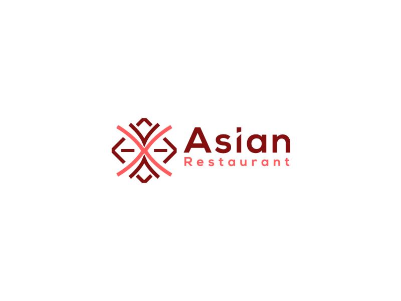 Asian Restaurant design charachter graphic  design beautiful full color logo cool logo best designer logo design cool design best shots creativity good design cool colors branding clean design