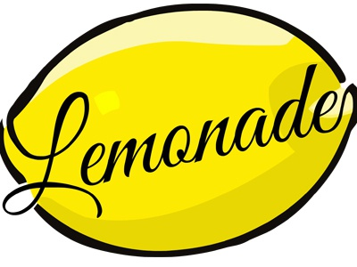 Lemonade illustration logo t-shirt