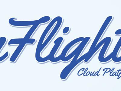 Flight logo print