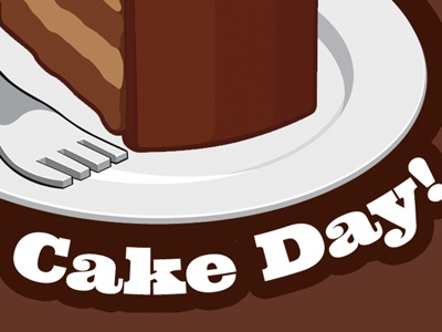 Cake Day by Jeremy Girard on Dribbble