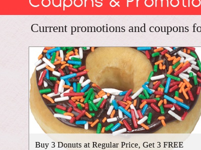 Donuts website donuts