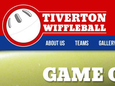 Wiffleball website logo fun