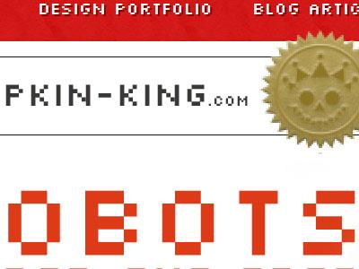 obots website christmas blog