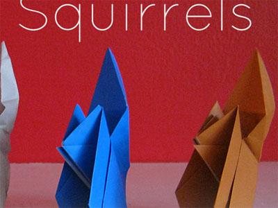 Squirrels website blog origami
