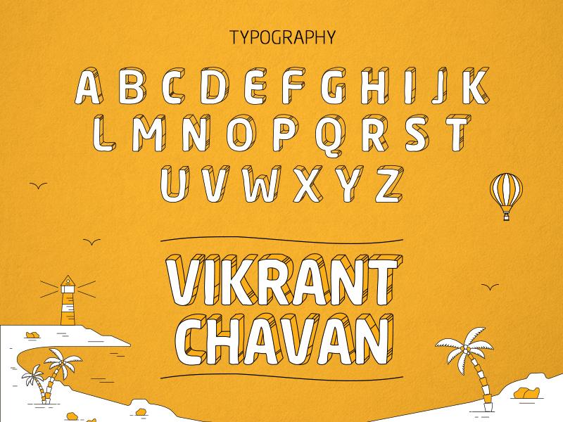 Typography - Free free typeface custom branding typography font