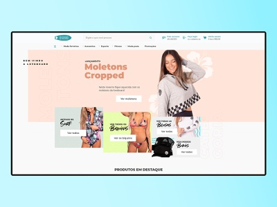 Loveboard - Ecommerce para Loja integrada branding web deisgn ui store design store ecommerce