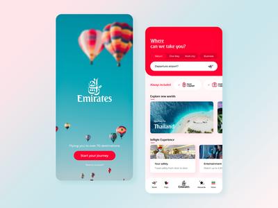 Emirates App Redesign booking app travel travel app ui trends ux trends ux  ui uxui uae dubai emirates app design ux designer ui design adobe xd ux design uxdesign user interface design user interface ux ui