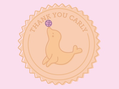 Thank you for your seal of approval