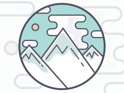 Mountain Range Patch