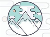 Mountain Range Patch