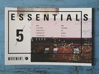 Essentials // Movement NYC